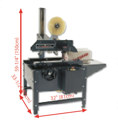 Dimensions of the LD-3SB machine