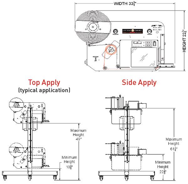 4 panel brochure dimensions
