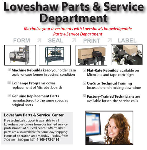 Parts and Service Department Brochure