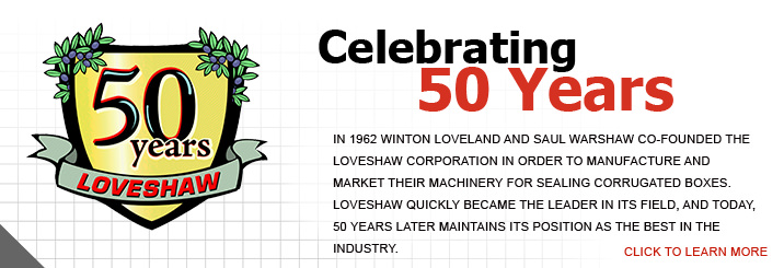 Packaging Equipment | 50 years celebration
