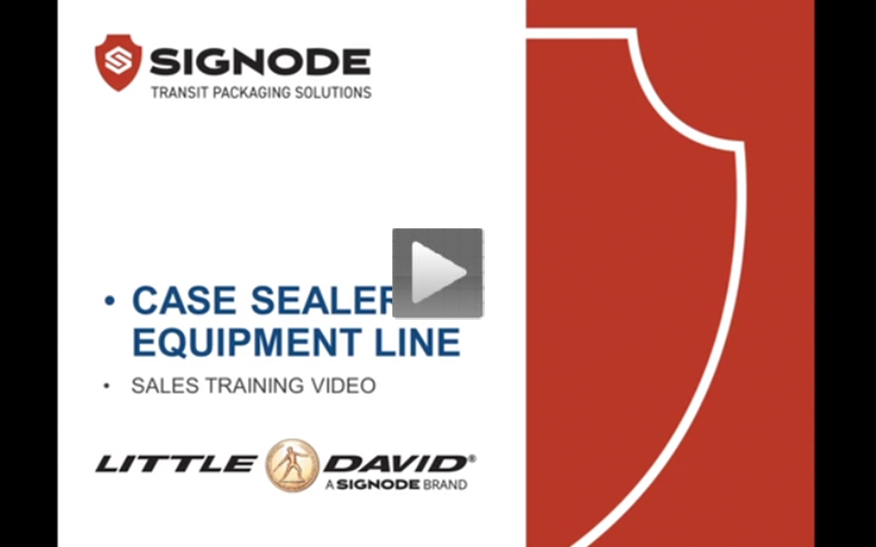 Case Sealers - selling features Video